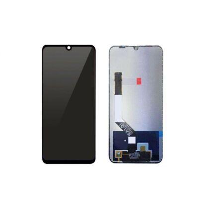 LCD kijelző, Xiaomi Redmi Note 7 érintőplexivel, fekete