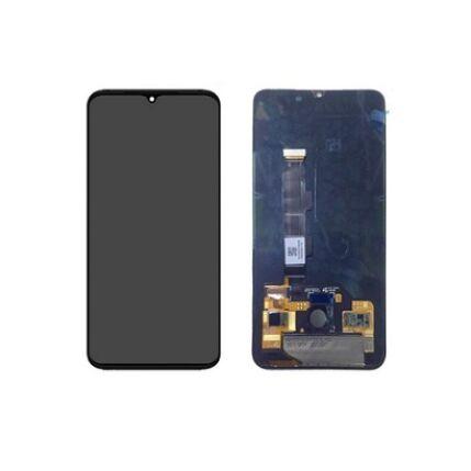 LCD kijelző, Xiaomi Mi 9 érintőplexivel, fekete