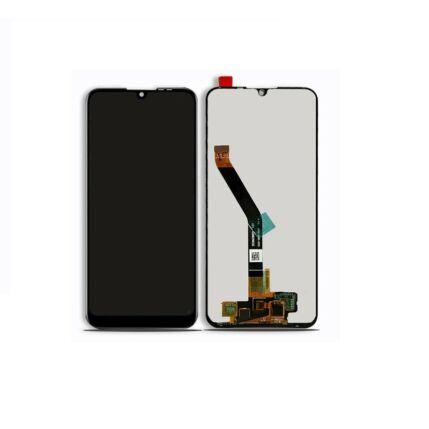 LCD kijelző, Huawei Y6 2019, Y6 Pro 2019 érintőplexivel, fekete
