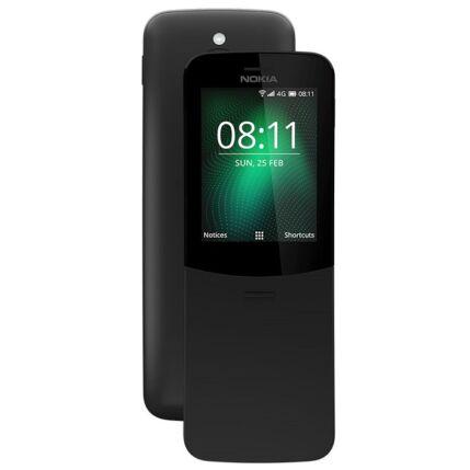 Nokia 8110 DualSIM, (Kártyafüggetlen 1 év garancia), Mobiltelefon, fekete