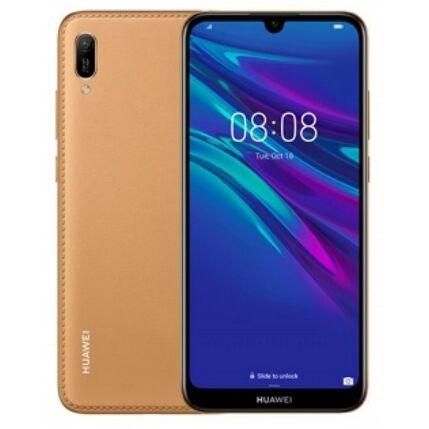 Huawei Y6 2019 32GB DualSIM, (Kártyafüggetlen 1 év garancia), Mobiltelefon, barna