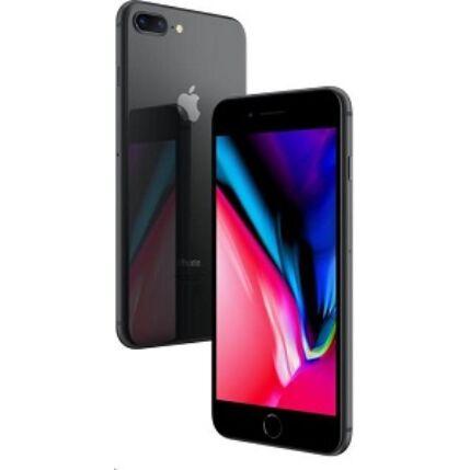 Apple iPhone 8 Plus 128GB, (Kártyafüggetlen 1 év garancia), Mobiltelefon, szürke