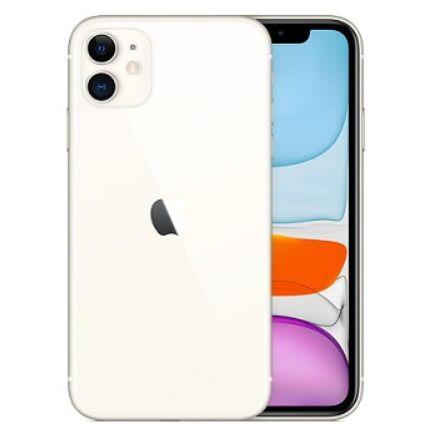 Apple iPhone 11 64GB 6.1, (Kártyafüggetlen 1 év garancia), Mobiltelefon, fehér
