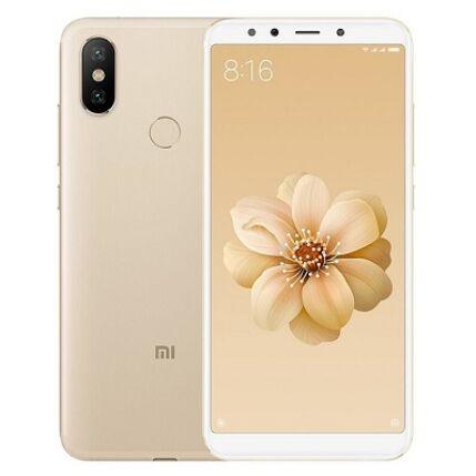 Xiaomi MI A2 128GB DualSIM, (Kártyafüggetlen 1 év garancia), Mobiltelefon, arany