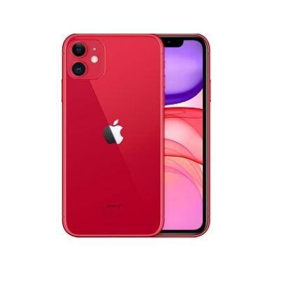 Apple iPhone 11 128GB 6.1, (Kártyafüggetlen 1 év garancia), Mobiltelefon, piros