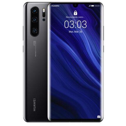 Huawei P30 Pro 256GB 8GB DualSIM, (Kártyafüggetlen 1 év garancia), Mobiltelefon, fekete