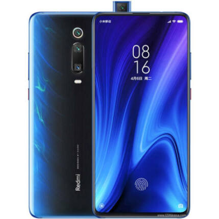 Xiaomi MI 9T 128GB 6 GB RAM DualSIM, Mobiltelefon, kék