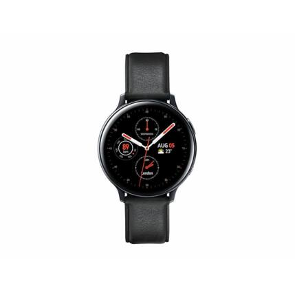 Samsung R820 Galaxy Watch 2 44mm (Rozsdamentes acél), Okosóra, fekete