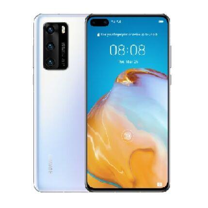 Huawei P40 128GB 8GB Ram DualSIM, (Kártyafüggetlen 1 év garancia), Mobiltelefon, fehér