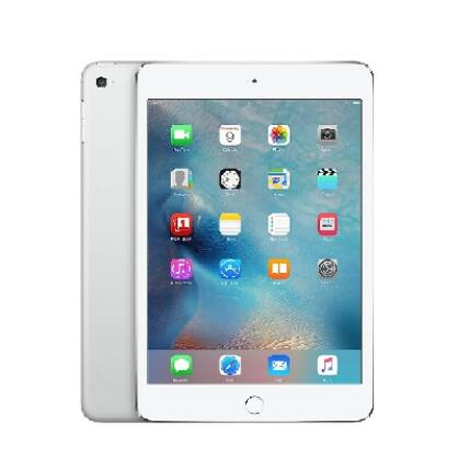 Apple iPad Mini 4 128GB Wif, (1 év garancia), Tablet, ezüst