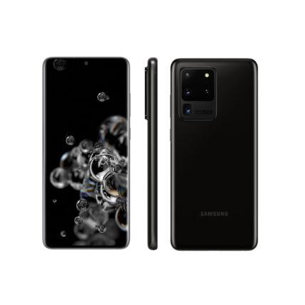 Samsung G988 Galaxy S20 Ultra 128GB 12GB RAM 5G DualSIM, Mobiltelefon, fekete
