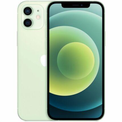 Apple iPhone 12 256GB, (Kártyafüggetlen 1 év garancia), Mobiltelefon, zöld