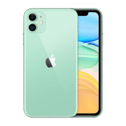 Apple iPhone 11 64GB 6.1, Mobiltelefon, zöld