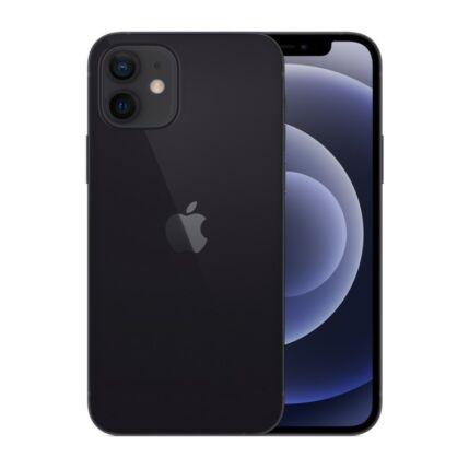 Apple iPhone 12 64GB, Mobiltelefon, fekete