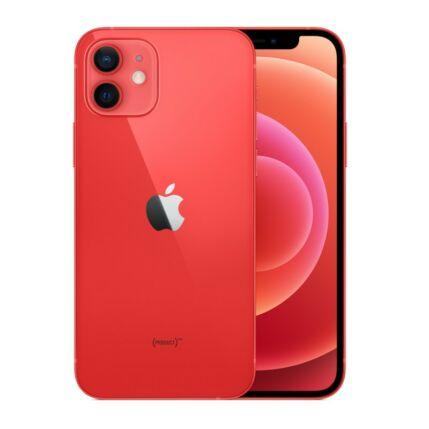 Apple iPhone 12 64GB, Mobiltelefon, piros