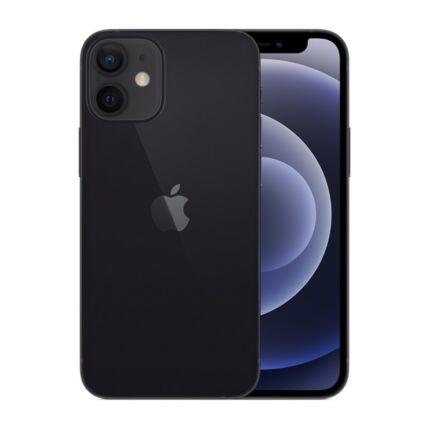 Apple iPhone 12 Mini 256GB, Mobiltelefon, fekete
