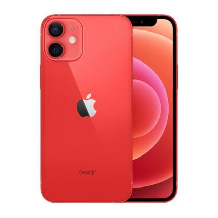 Apple iPhone 12 Mini 256GB, Mobiltelefon, piros
