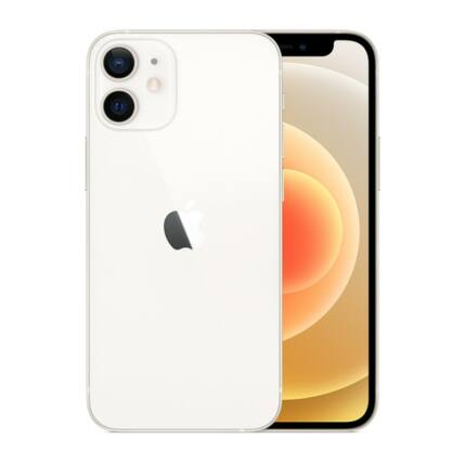 Apple iPhone 12 Mini 64GB, Mobiltelefon, fehér