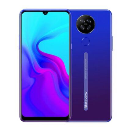 Blackview A80 16GB 2GB RAM DualSIM, Mobiltelefon, kék