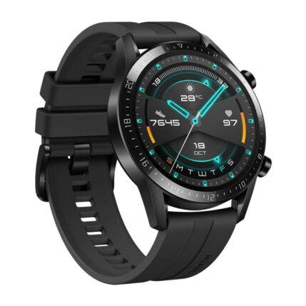 Huawei Watch GT2 Sport 46mm, Okosóra, fekete