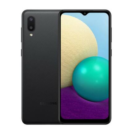 Samsung A022F Galaxy A02 32GB 2GB RAM DualSIM, Mobiltelefon, fekete