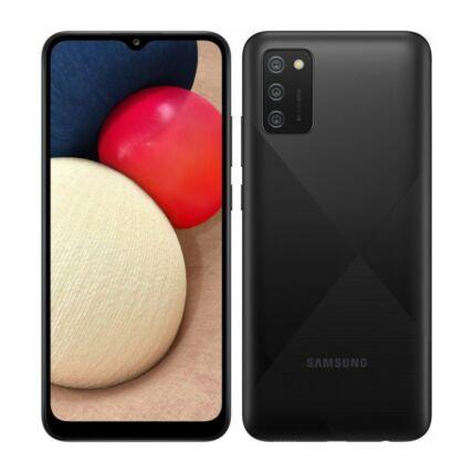 Samsung A025F Galaxy A02S 64GB 4GB RAM DualSIM, Mobiltelefon, fekete