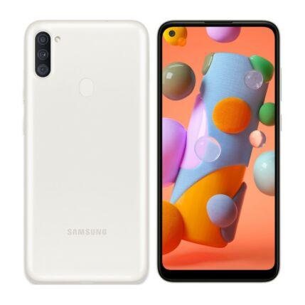 Samsung A115 Galaxy A11 32GB 2GB RAM DualSIM, Mobiltelefon, fehér