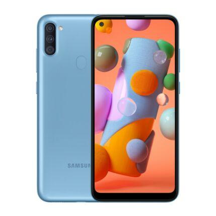 Samsung A115 Galaxy A11 32GB 3GB RAM DualSIM, Mobiltelefon, kék