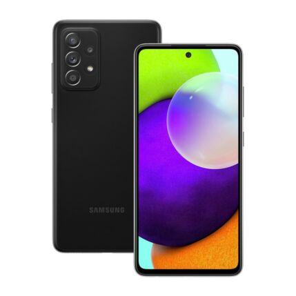 Samsung A525F Galaxy A52 128GB 8GB RAM DualSIM, Mobiltelefon, fekete