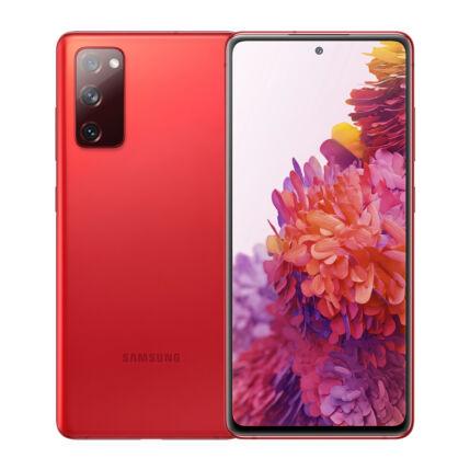Samsung G780F Galaxy S20 FE 128GB 6GB RAM DualSIM, Mobiltelefon, piros