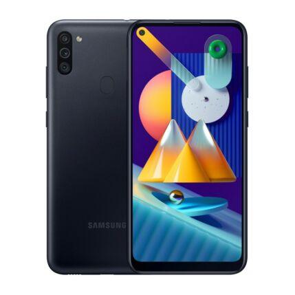 Samsung M115F Galaxy M11 32GB 3GB RAM DualSIM, Mobiltelefon, fekete