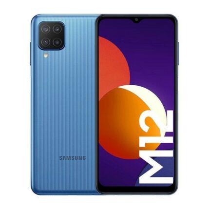 Samsung M127F Galaxy M12 32GB 3GB RAM DualSIM, Mobiltelefon, kék