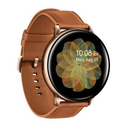 Samsung R820 Galaxy Watch Active 2 44mm (Rozsdamentes acél), Okosóra, arany