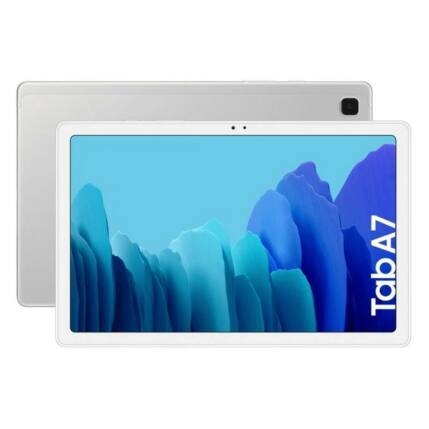 "Samsung T500 Galaxy Tab A7 2020 WiFi 32GB 3GB RAM 10.4"", Tablet, ezüst"