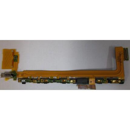 Sony Xperia Z5 E6853/E6883, Átvezető szalagkábel (Flex), (oldalgomb, vibramotor)
