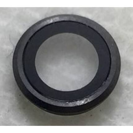 Apple iPhone 6/6S, Kamera plexi, fekete