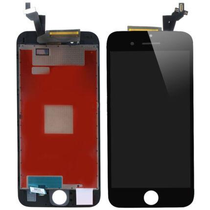 Apple iPhone 6S Plus, LCD kijelző érintőplexivel, fekete