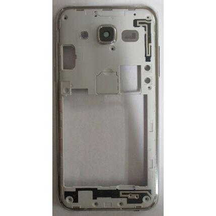 Samsung J500 Galaxy J5, Középső keret, fehér-arany