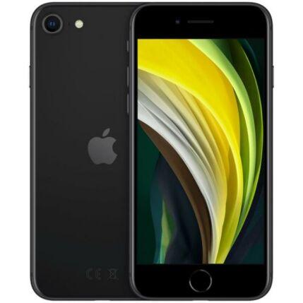 Apple iPhone SE 2020 128GB 3GB RAM, Mobiltelefon, fekete