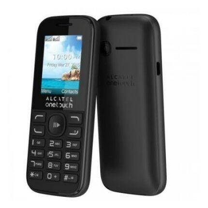 Mobiltelefon, Alcatel OT-1052G, fekete