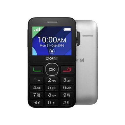 Mobiltelefon, Alcatel OT-2008, fekete-fehér