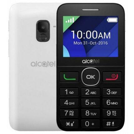 Alcatel OT-2008, Mobiltelefon, fekete-fehér