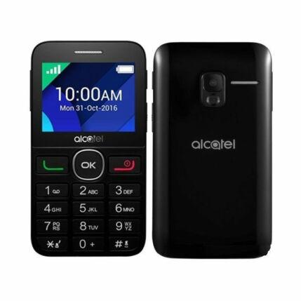 Mobiltelefon, Alcatel OT-2008, fekete