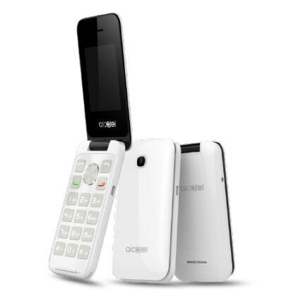 Alcatel OT-2051X, Mobiltelefon, fehér