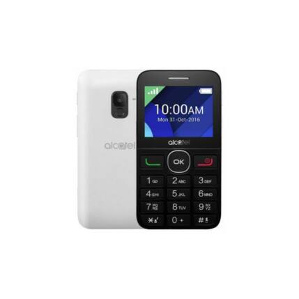 Alcatel OT-2019G, Mobiltelefon, ezüst