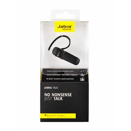 Bluetooth headset, Jabra Talk (MultiPoint), fekete