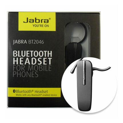 Bluetooth headset, Jabra BT2046, fekete