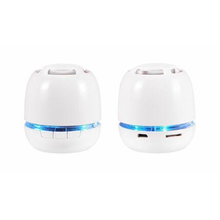 Multimédia Hangszóró, Bluetooth Mini Megabass , fehér