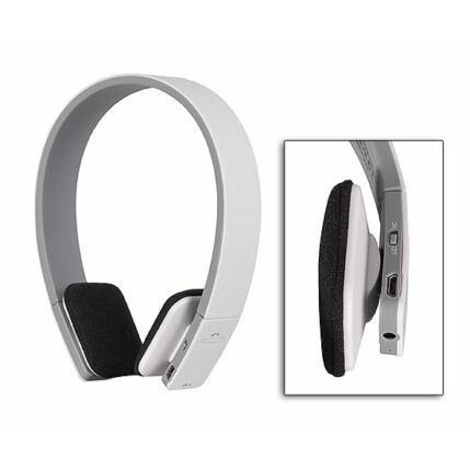 Fejhallgató, AEC BQ 618, Bluetooth headset, fehér