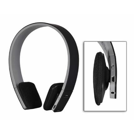 Fejhallgató, AEC BQ 618, Bluetooth headset, fekete